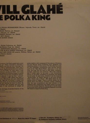 Will Glahe - The Polka King
